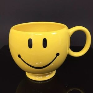 Other - YELLOW SMILEY FACE LARGE TELEFLORA COFFEE MUG